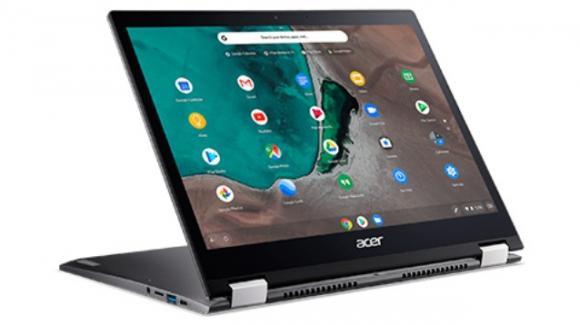 Acer Chromebook Spin 13, ultrabook con ChromeOS ora più potente (Intel i7) ma anche più costoso